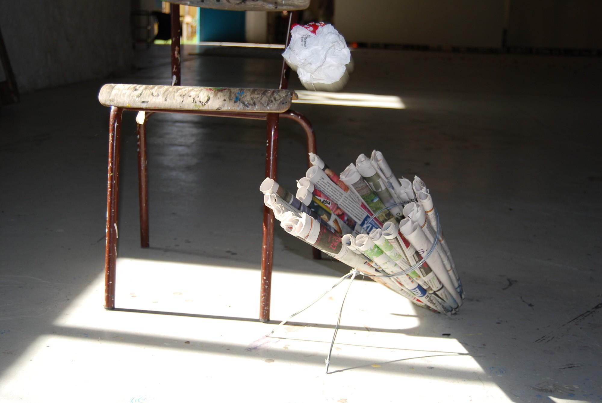Design - Papir kurve