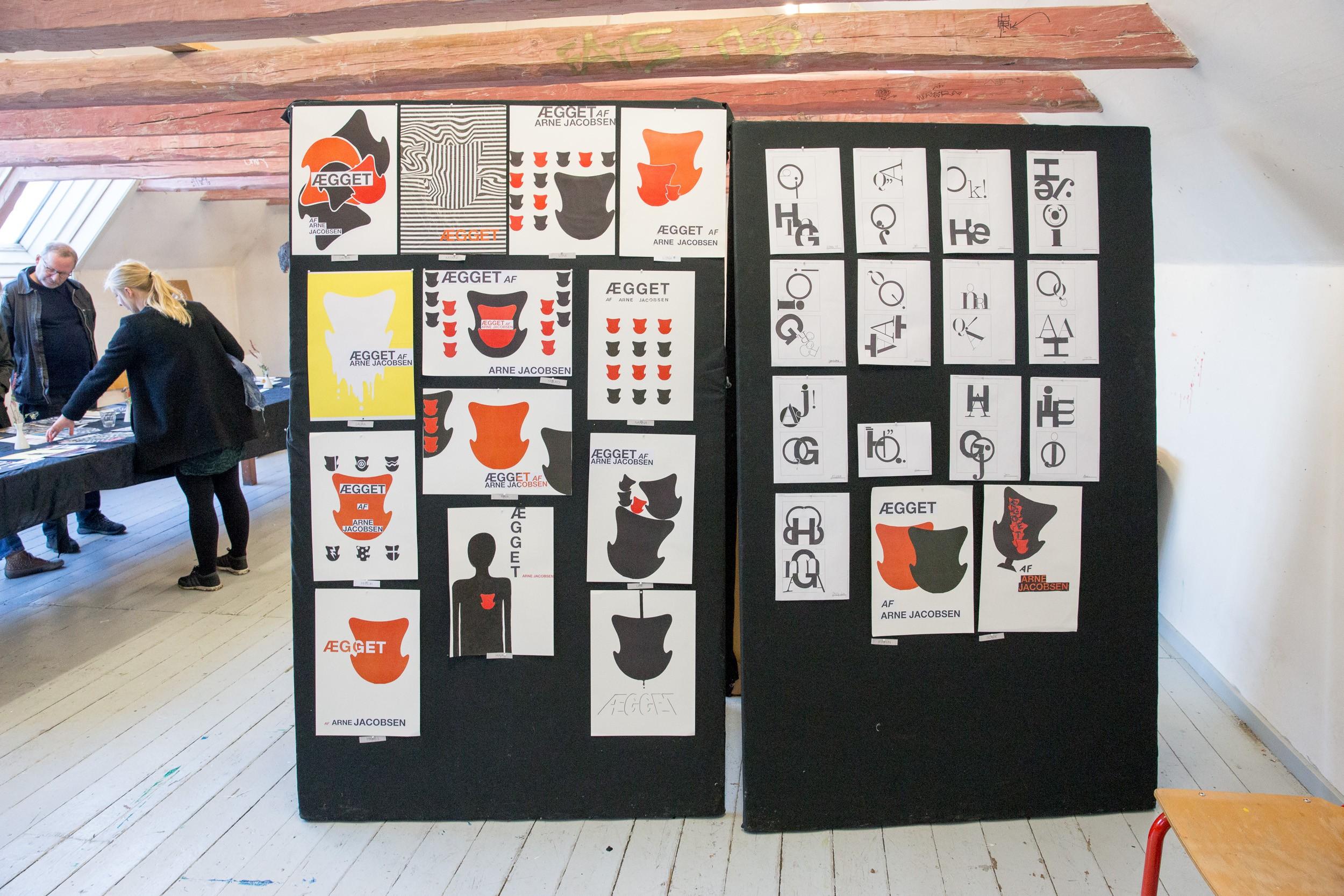 Grafisk design på Kunsthøjskolen