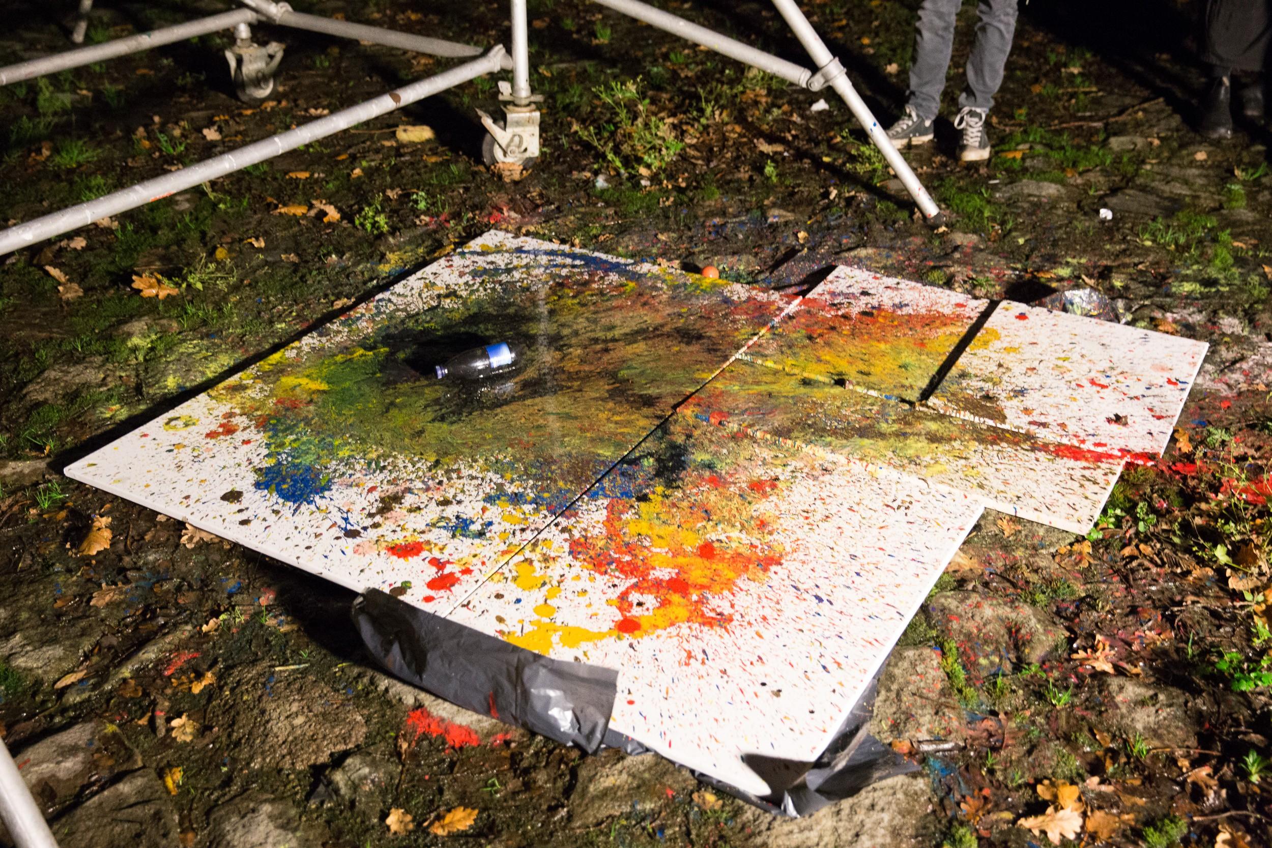 Maleri på Kunsthøjskolen