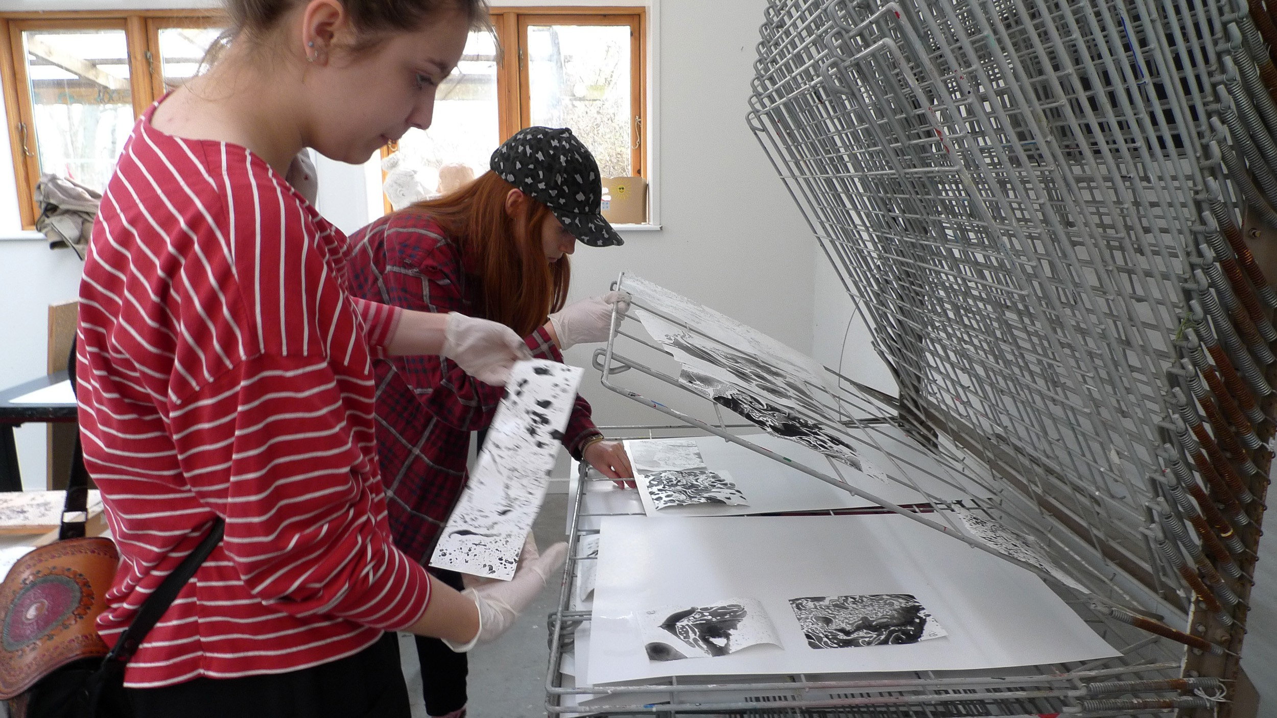 Marmorering workshop