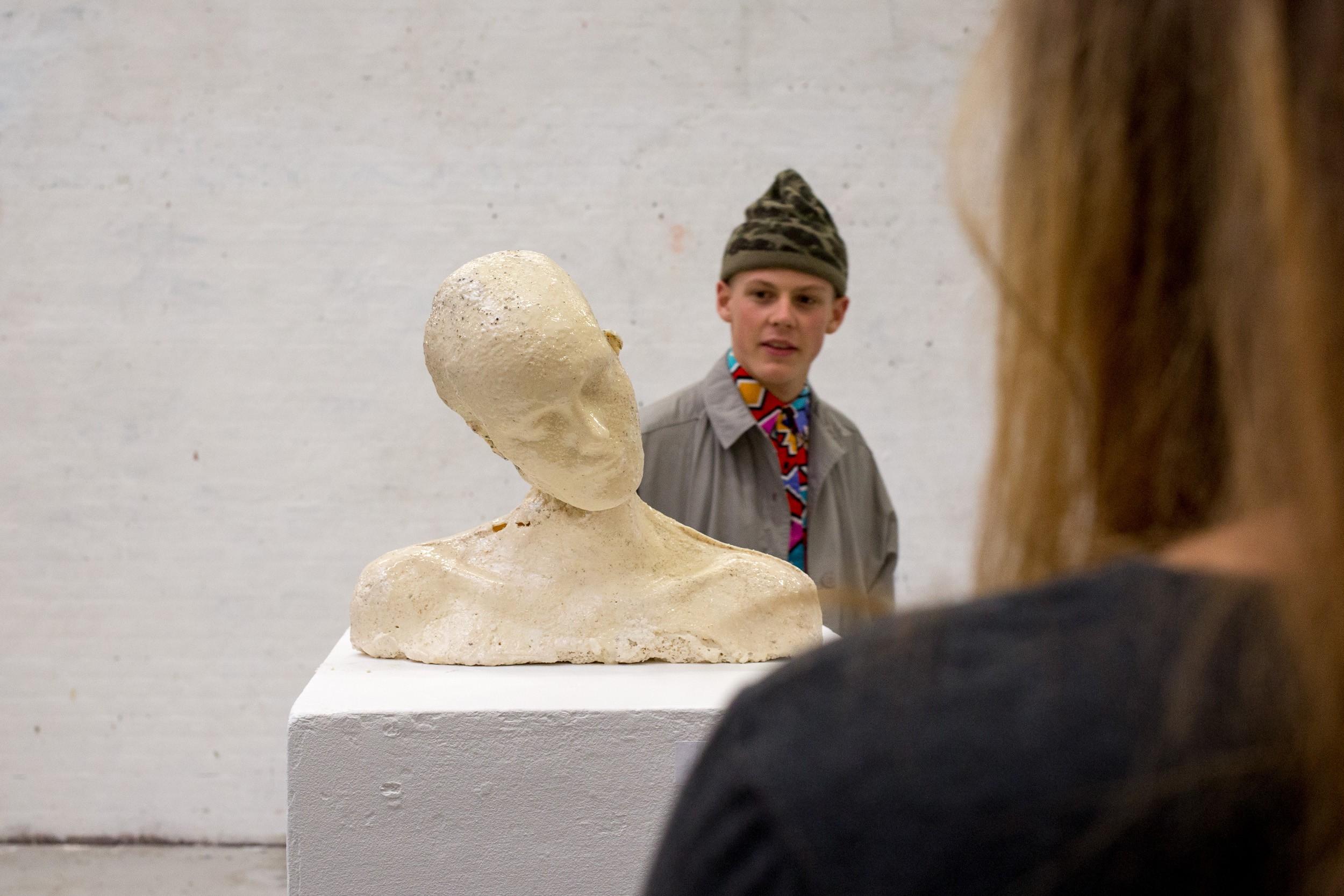 Skulptur på Kunsthøjskolen 2014