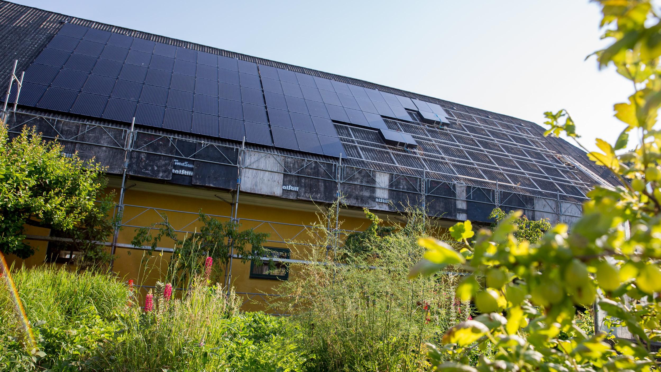 Nyt anlæg til solenergi & jordvarme