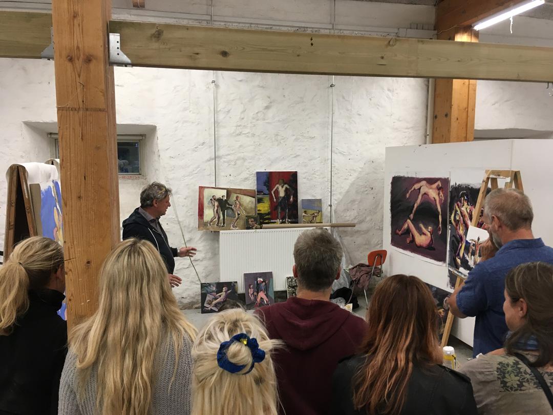 Sommerkursus B, 2018 på Kunsthøjskolen
