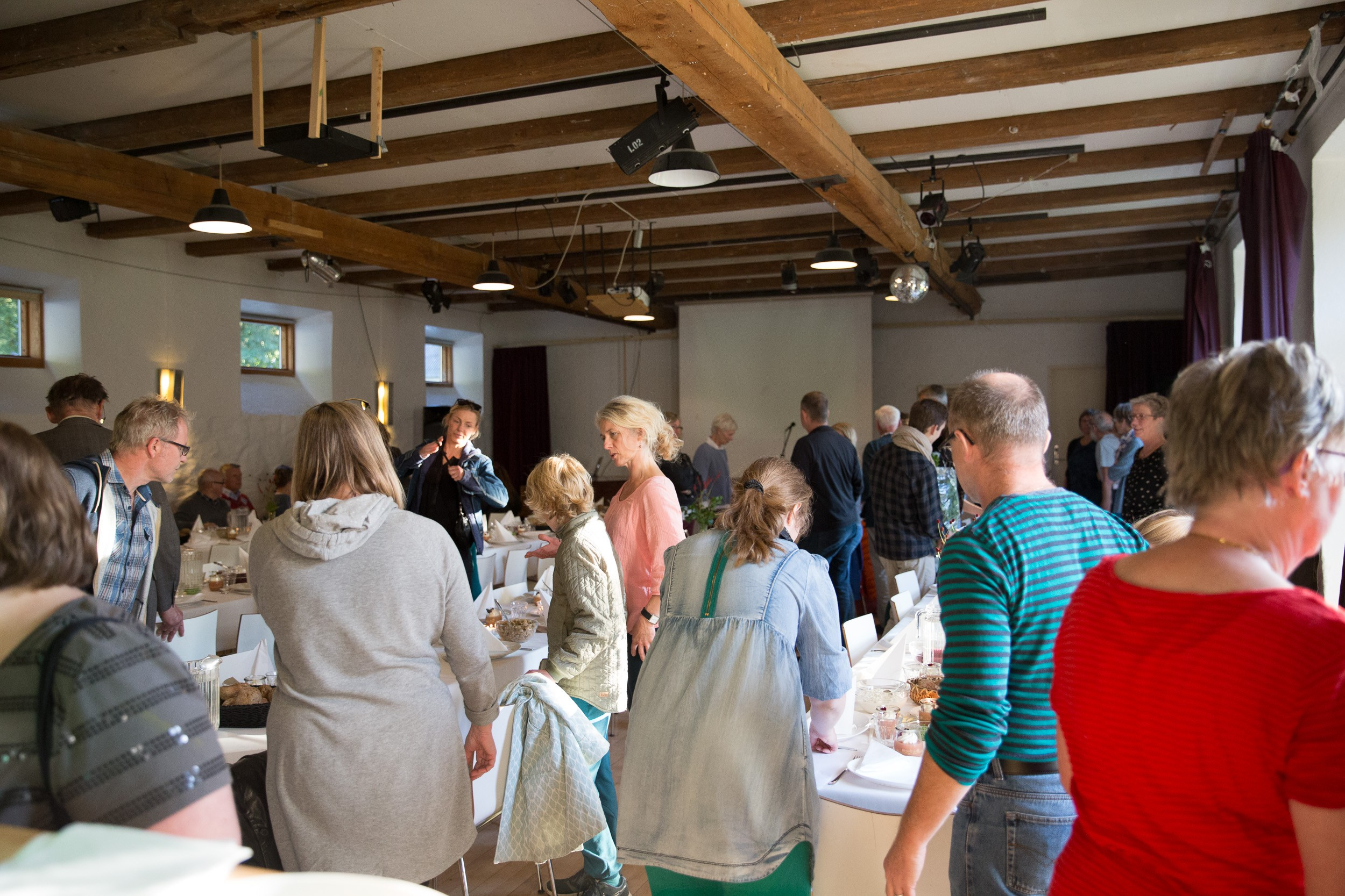 Spisefællesskab på Kunsthøjskolen