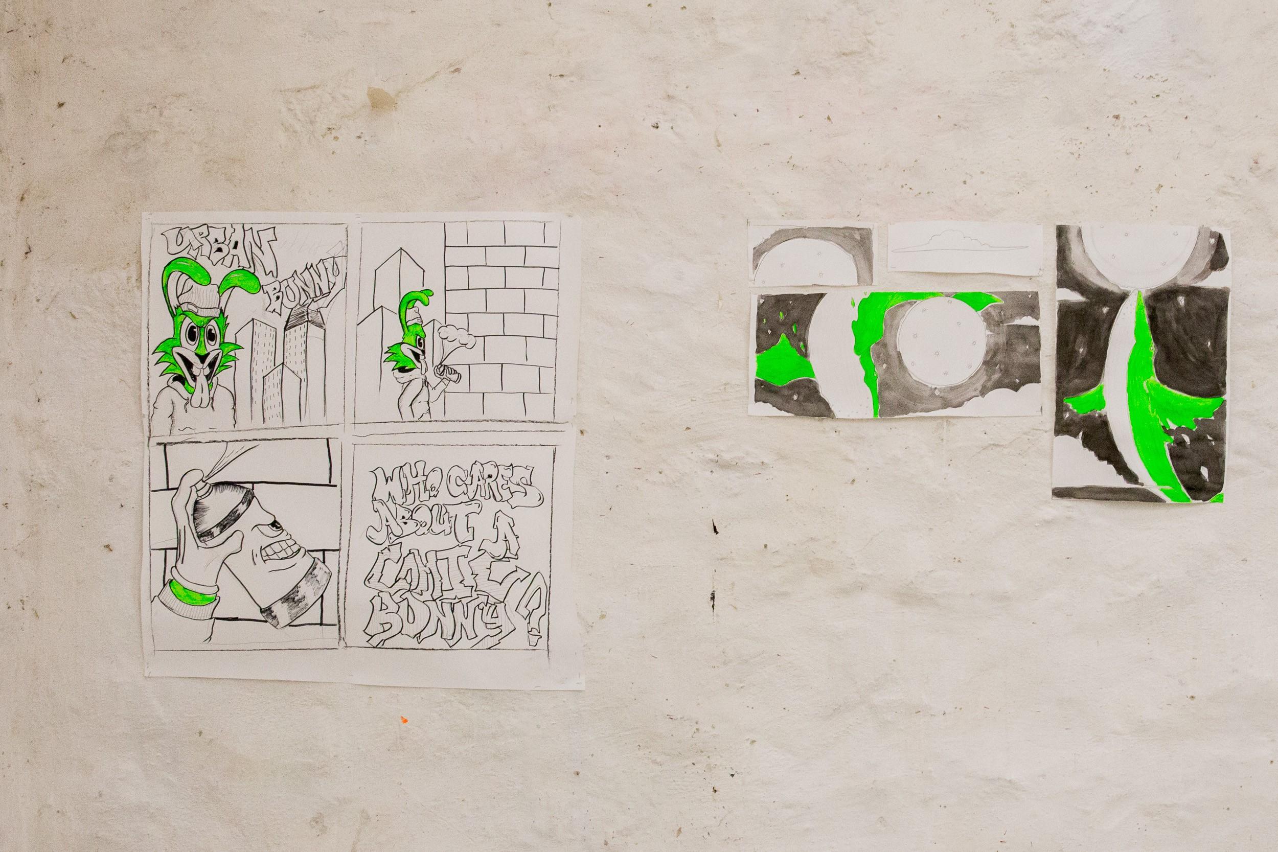 Tegneserier på Kunsthøjskolen