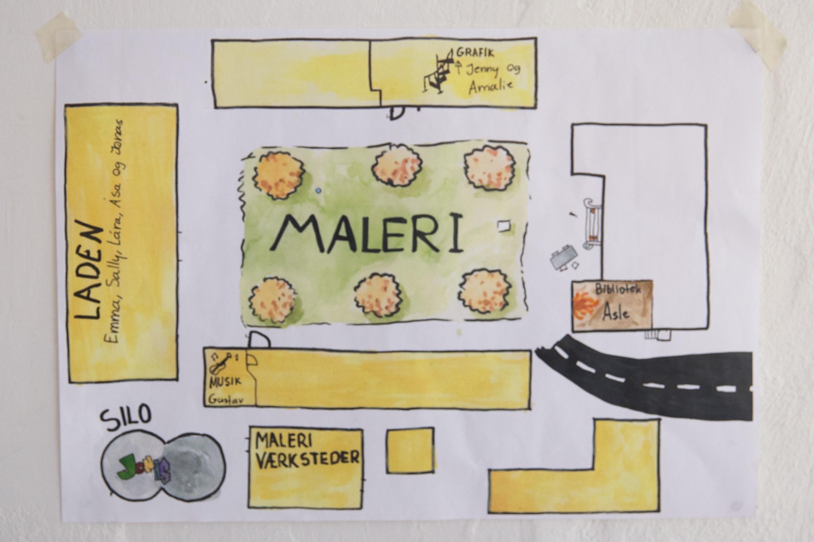 Maleri - E16
