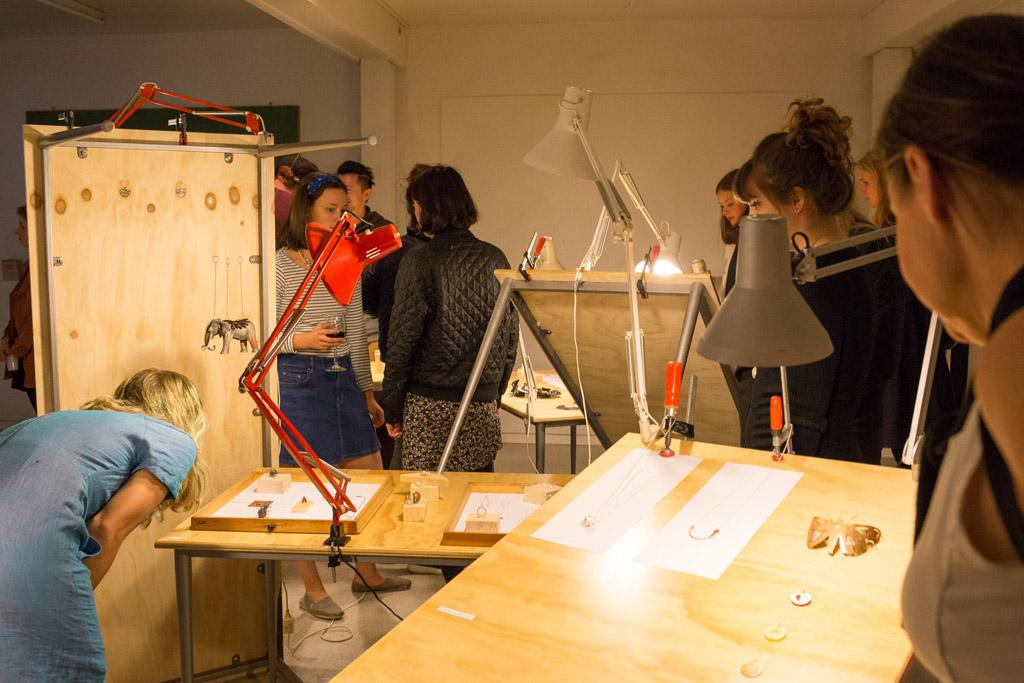 Smykke udstilling - Forår 2014