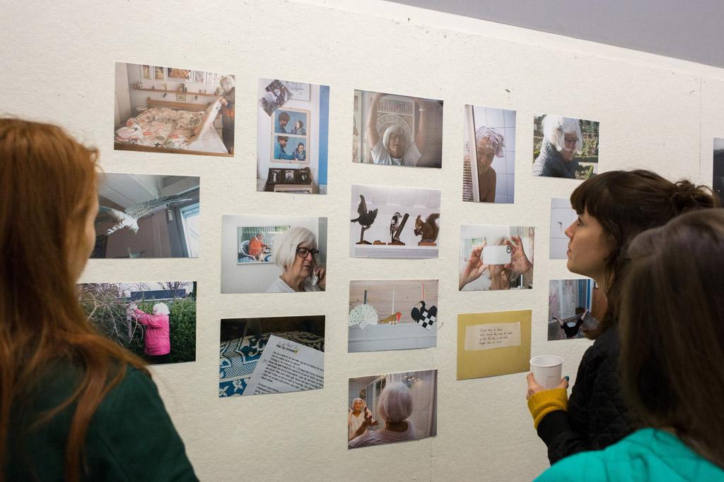 Fotografi udstilling på Kunsthøjskolen