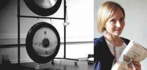 Aiste Venskune Gong Bath på Kunsthøjskolen i Holbæk 24 oktober 2019