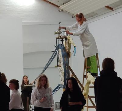 Installation og rum udstilling 1. periode efteråret 2020 Kunsthøjskolen i Holbæk