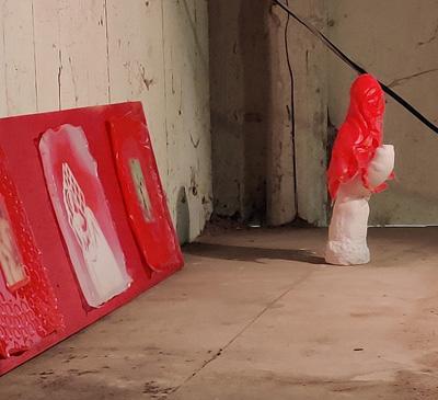 Maleri udstilling 1. periode efteråret 2020 Kunsthøjskolen i Holbæk