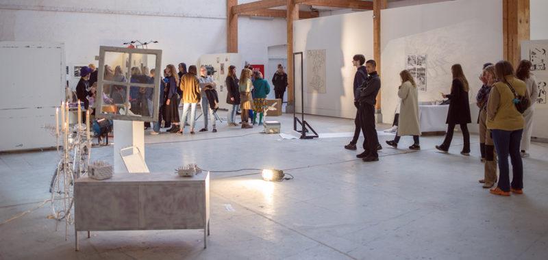 Udstilling første 1. periode Efteråret 2019 Kunsthøjskolen i Holbæk