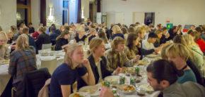 Kunsthøjskolen I Holbæk Jubilæum 175år for højskolerne i Danmark 2019 Middag