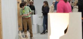 Design Popup udstilling Kunsthøjskolen i Holbæk F19