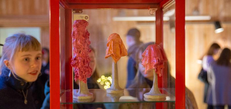 Første Keramik udstilling, Kunsthøjskolen i Holbæk, Forår 2019 cover