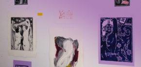 Grafik udstilling Kunsthøjskolen i Holbæk efteråret 2019