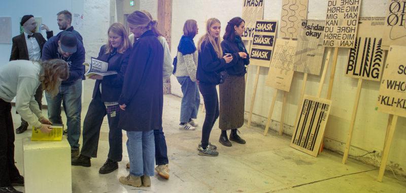 Grafisk Design Udstilling efteråret 2019 – Kunsthøjskolen i Holbæk