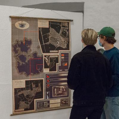 Kunsthøjskolen i Holbæk Grafisk Design efteråret 2020 udstilling