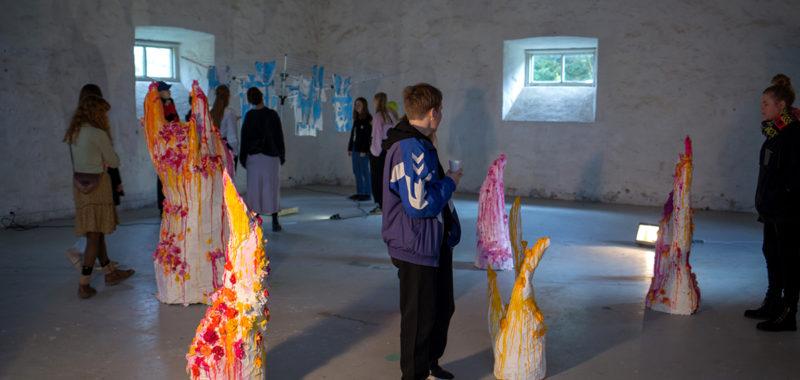 Installation & Rum Udstilling 1. periode Kunsthøjskolen i Holbæk 2019