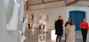 Installation og Rum udstilling efterået 2020 kunsthøjskolen i holbæk