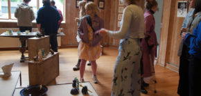 Keramikudstilling for anden gang i foråret 2019 Kunsthøjskolen I Holbæk