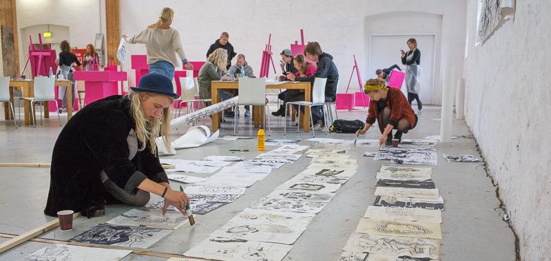 Kunsthøjskolen - Young ARTists