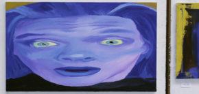 Maleri udstilling Kunsthøjskolen i Holbæk Efteråret 2018 1. periode