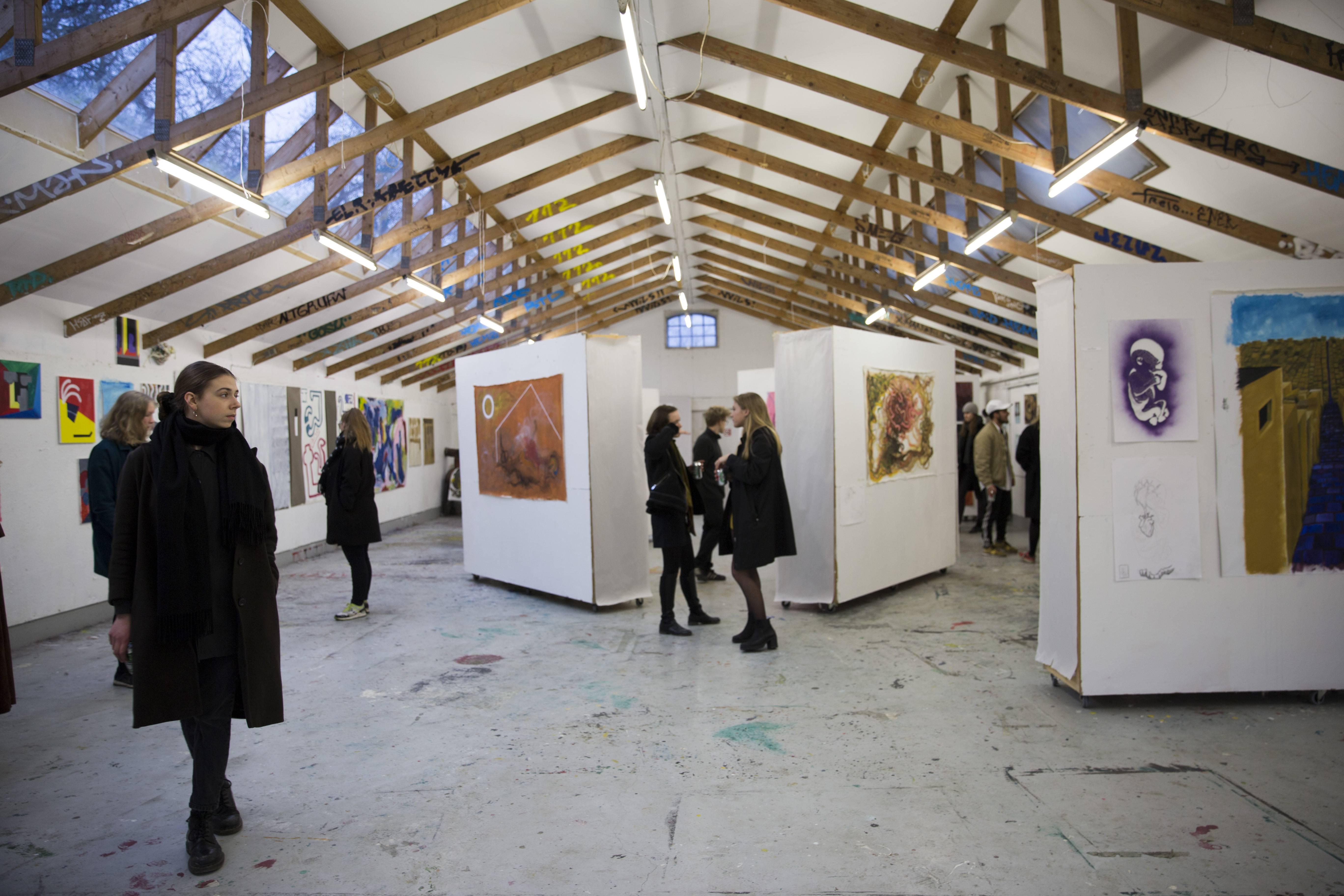 Maleri, Forår 2017