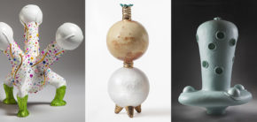 Keramiker Ole Vesterlund værkerne: Atomizer#3, Amphipod#1, Bull'sEyeCondenser – artisttalk 20. september 2018 på Kunsthøjskolen