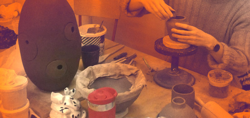 Projekter og drømme Keramik foråret 2019 Kunsthøjskolen i Holbæk