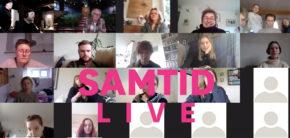 SAMTID Live direkte fra Kunsthøjskolen corona fjernundervisning