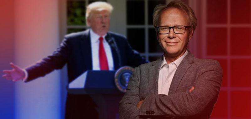 David Trads foredrag Verden under Trump på Kunsthøjskolen i Holbæk 29 november 2018