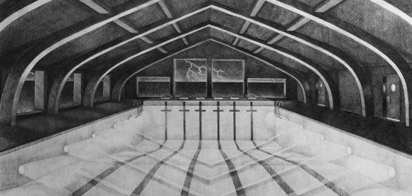 Untitled (2018) Simon Bukhave. 150x105 cm. Pencil-on-paper (beskåret)