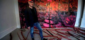 artist talk kunsthøjskolen i holbæk Morten Schelde Drawing Nature foto sven-eriksvensson