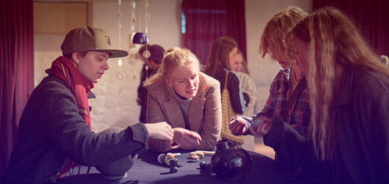 Keramik udstilling 1. periode efteråret 2019 Kunsthøjskolen I Holbæk