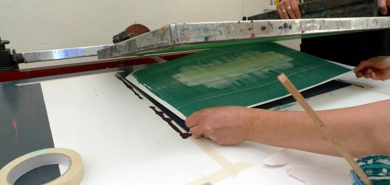 Serigrafi - trykproces